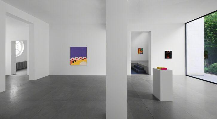 Matt Connors — Look Up, installation view