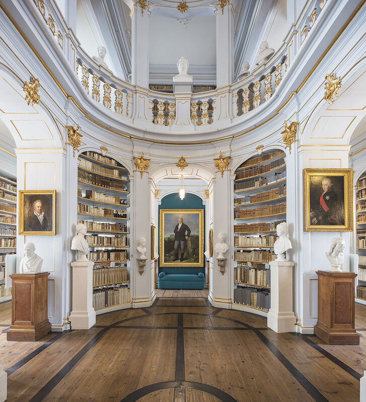 Reinhard Gorner, 'Great Minds, Duchess Anna Amalia Library, Weimar, Germany', 2017, Photography, Lambda Print, Undercurrent Projects
