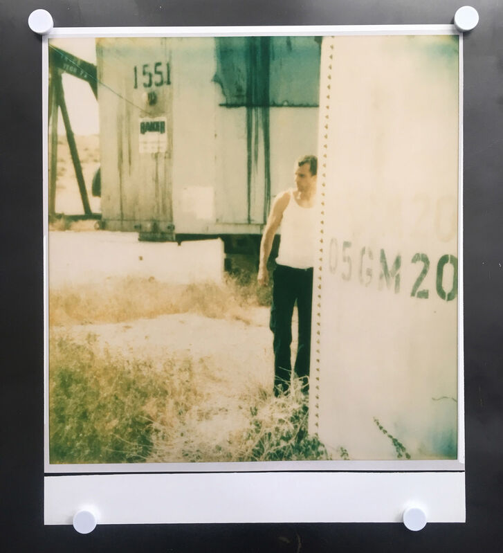 Stefanie Schneider, 'Untitled (Oilfields)', 2004, Photography, Analog C-Print, hand-printed by the artist on Fuji Crystal Archive Paper, based on a Polaroid, not mounted, Instantdreams