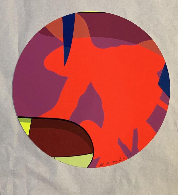 KAWS, 'BROOKLYN MUSEUM 2', 2019, Print, Screen print, handmade, Dope! Gallery