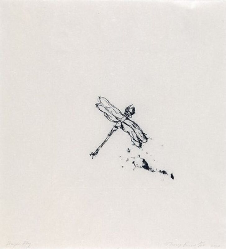 Tracey Emin, 'TRACEY EMIN- DRAGONFLY', 2010, Print, Polymer gravure on paper, Arts Limited