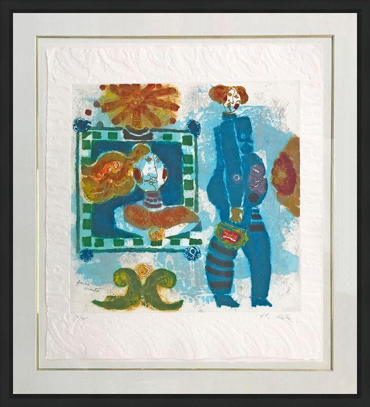 Theo Tobiasse, 'LA FEMME ERRANTE', 1983, Print, ETCHING, Gallery Art