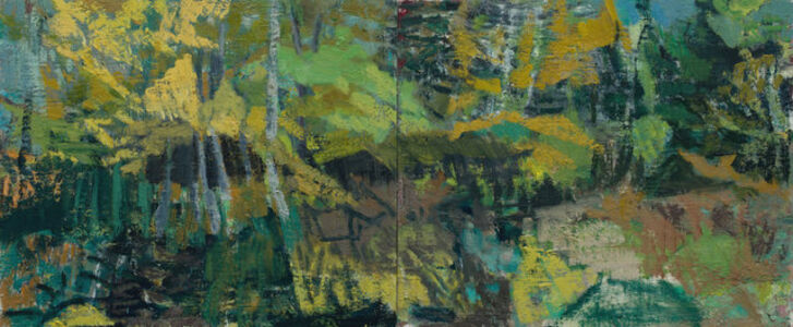 Joanna Logue, 'Wild Arcadia garden fall', 2019