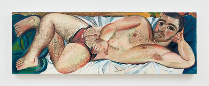 Louis Fratino, 'Tom reclining', 2019