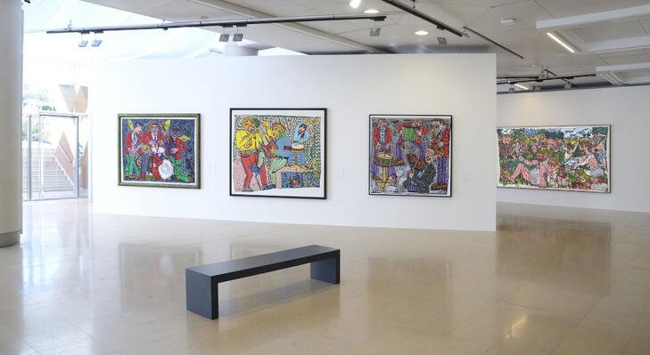 Robert Combas - 80s & 90s, installation view