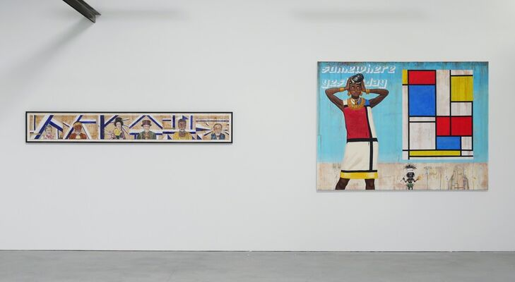 Mindful Savage's Guide to Reverse Modernism, installation view