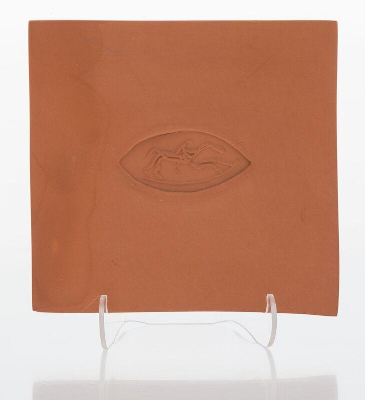 Pablo Picasso, 'Ovale avec le cheval', 1971, Design/Decorative Art, Terracotta plaque, Heritage Auctions