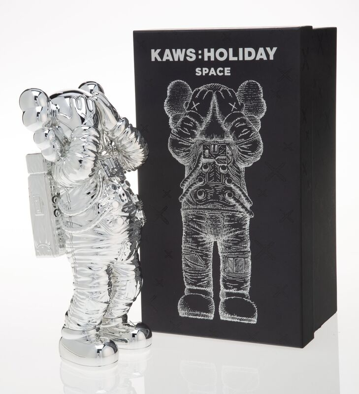 KAWS, 'Holiday: Space (Silver)', 2020, Sculpture, Painted cast vinyl, Heritage Auctions