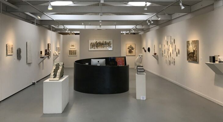 13th Annual Art of the Book Exhibition, installation view