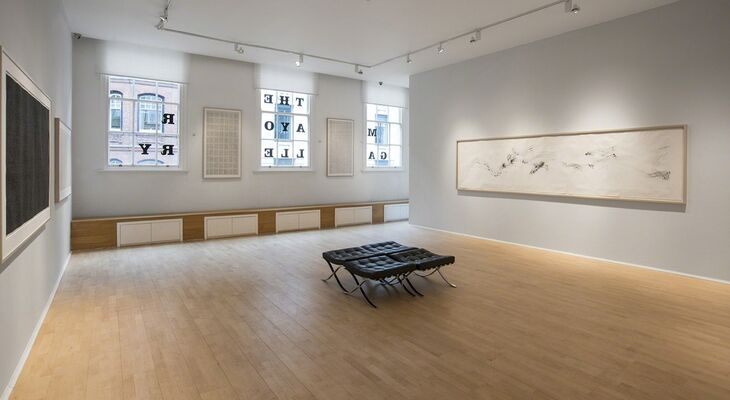Li Huasheng, installation view