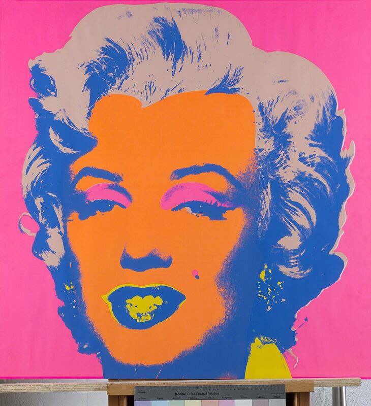 Andy Warhol, 'Marilyn', 1967, Print, Coloured serigraphy on white paper, Finarte