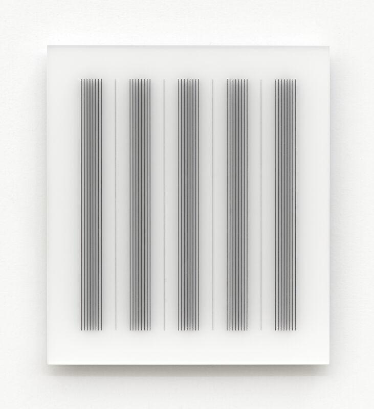 Hadi Tabatabai, 'Acrylic piece 2012-5', 2012, Installation, Acrylic paint on acrylic panel, Bartha Contemporary