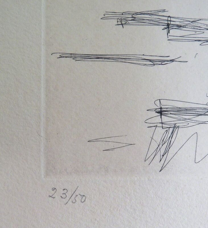 Alberto Giacometti, 'Dans l'Atelier', 1965, Print, Etching, F.L. Braswell Fine Art