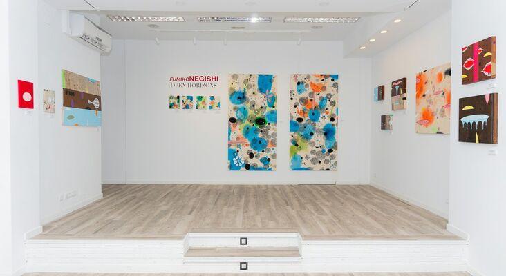 Fumiko Negishi, installation view