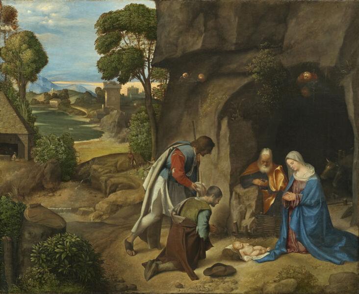 Giorgione, 'Adoration of the Shepherds', 1505-1510