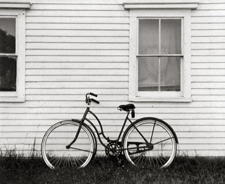 Ellen Auerbach, 'Bicycle, Maine', 1940