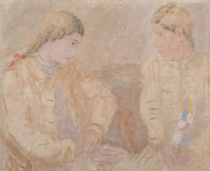 Pio Semeghini, 'Piccole amiche', 1940