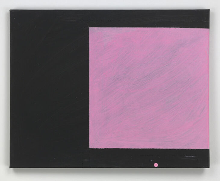 Mary Heilmann, 'Pink and Black is Coming Back', 2016