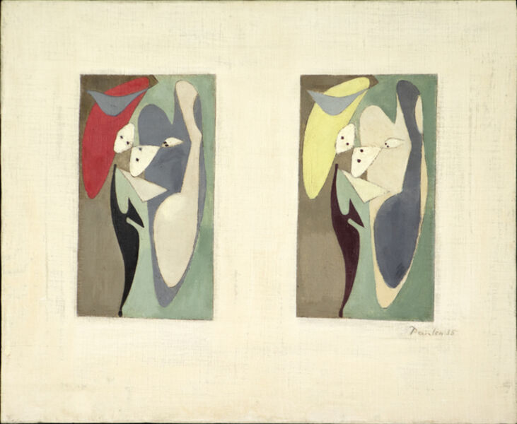 Wolfgang Paalen, 'Composition', 1935