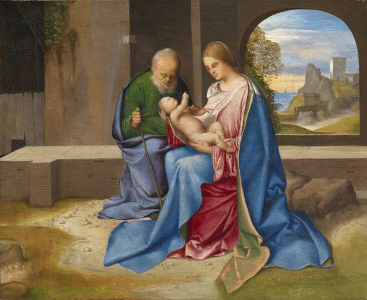 Giorgione, 'The Holy Family', probably c. 1500
