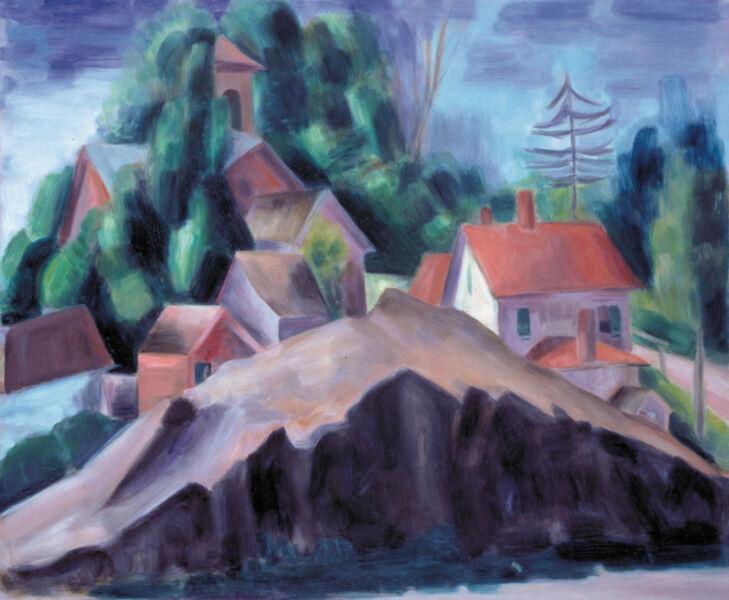Konrad Cramer, 'Landscape with Cliff', ca. 1918-20