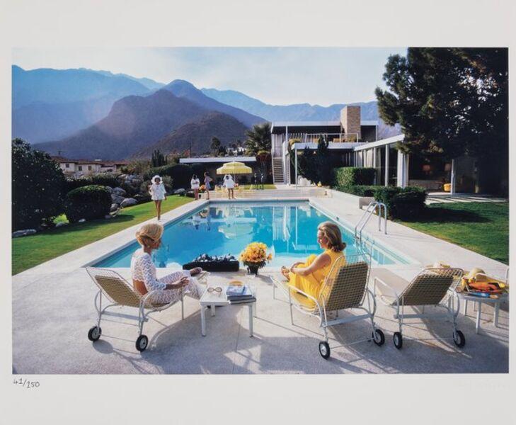 Slim Aarons, 'Poolside Glamour', 1970-printed later