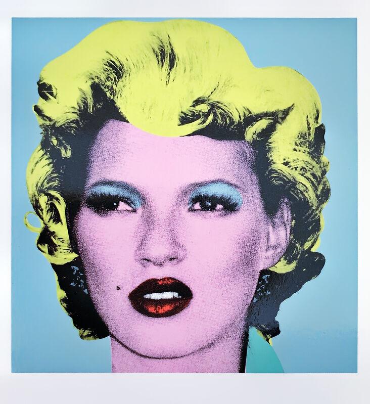 Banksy, 'Kate Moss', 2005, Print, Crude Oils Invitation postcard, Tate Ward Auctions