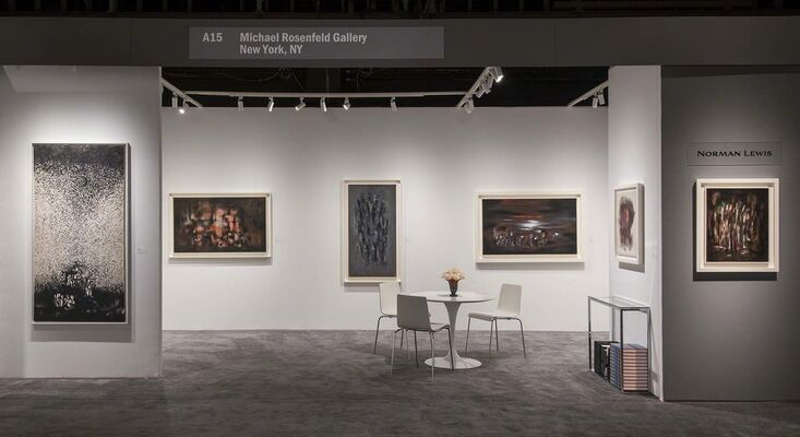 Michael Rosenfeld Gallery at Art Basel in Miami Beach 2016, installation view