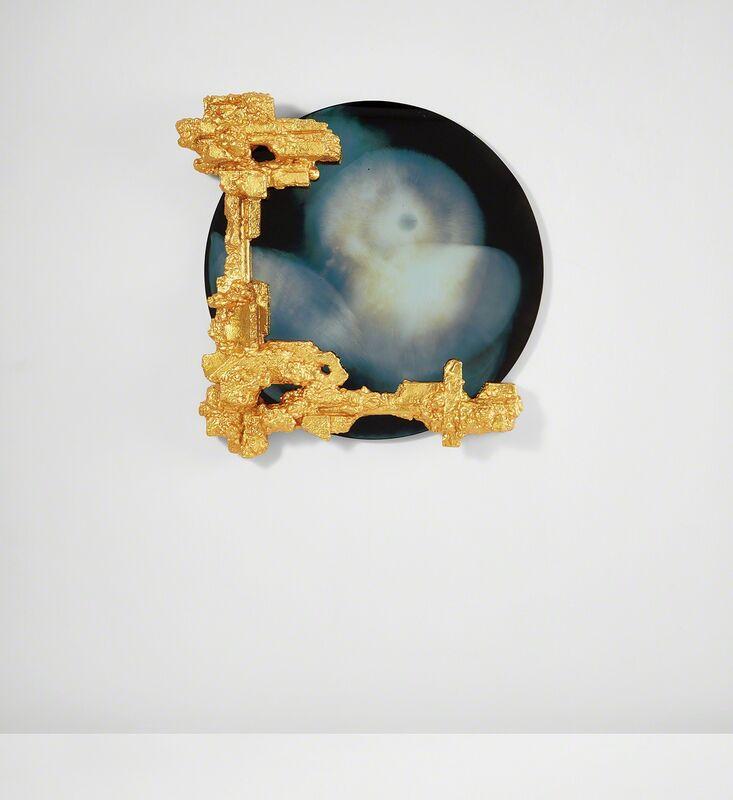 "Chris Schanck, 'Unique mirror, from the ""Alufoil"" series', 2014, Design/Decorative Art, Resin, polystyrene, aluminum foil, mirrored glass., Phillips"