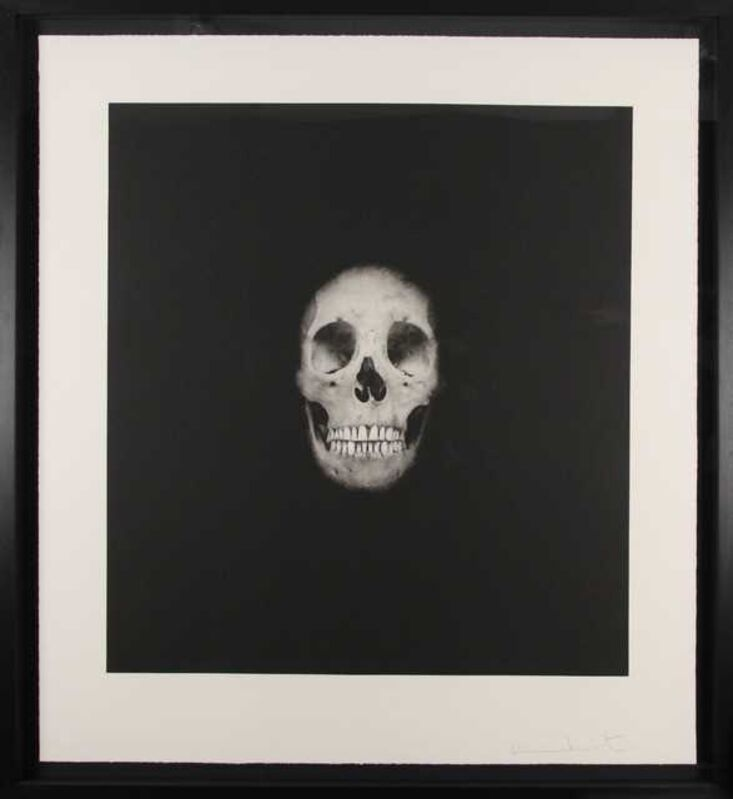 Damien Hirst, 'I once was what you are, you will be what I am, skull 2', 2007, Print, Hand-inked photogravure on 400 gsm Velin d'Arches paper, Chiswick Auctions