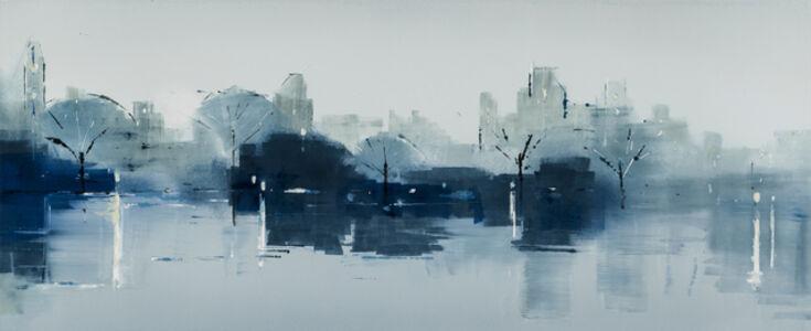 Lisa Breslow, 'Central Park Blues 1', 2018