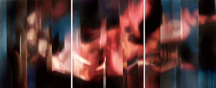 Leo WANG, 'Composition en Rouge', 2014