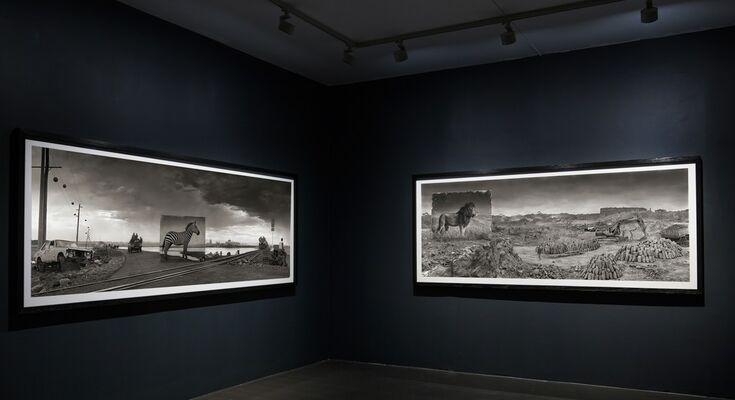 Nick Brandt - Inherit the Dust, installation view