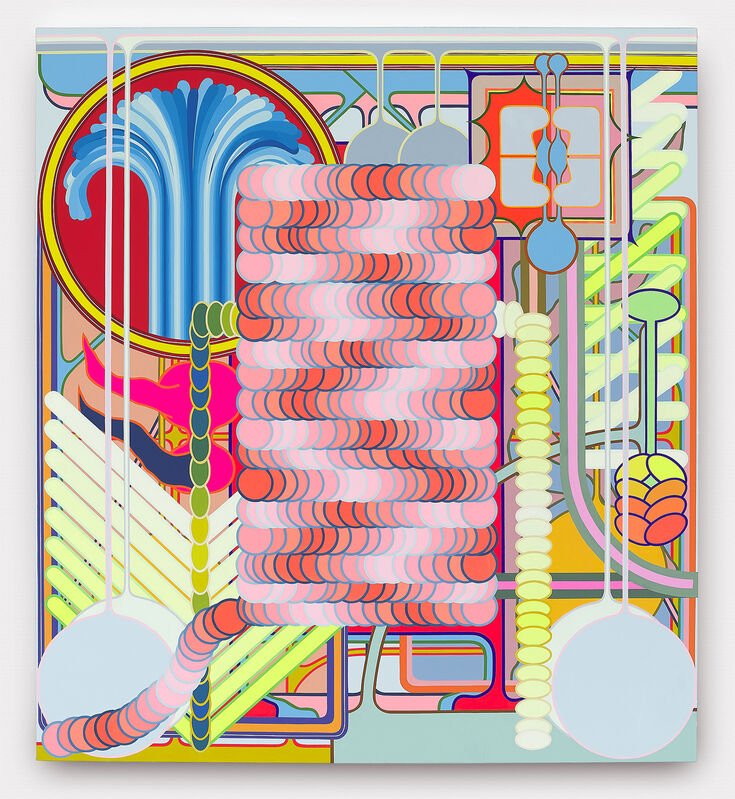 Eric Shaw, 'Radiator', 2019, Painting, Acrylic on canvas, The Hole