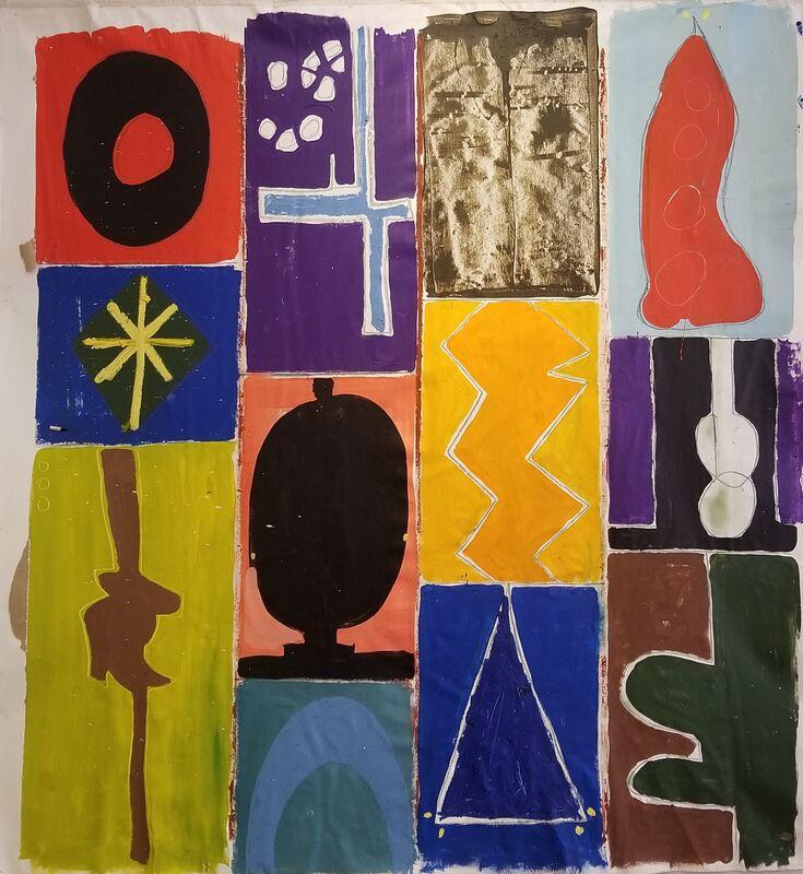 Noah Becker, 'Jawni', 2020, Painting, A, Rudolf Budja Gallery