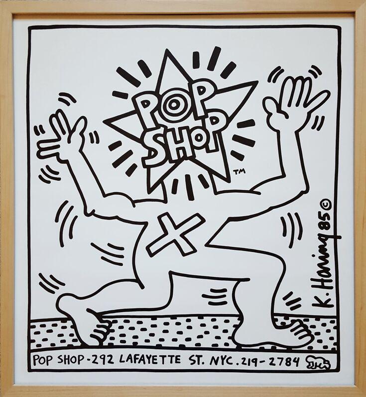 Keith Haring, 'Pop Shop', 1986, Ephemera or Merchandise, Offset-Lithograph, Graves International Art