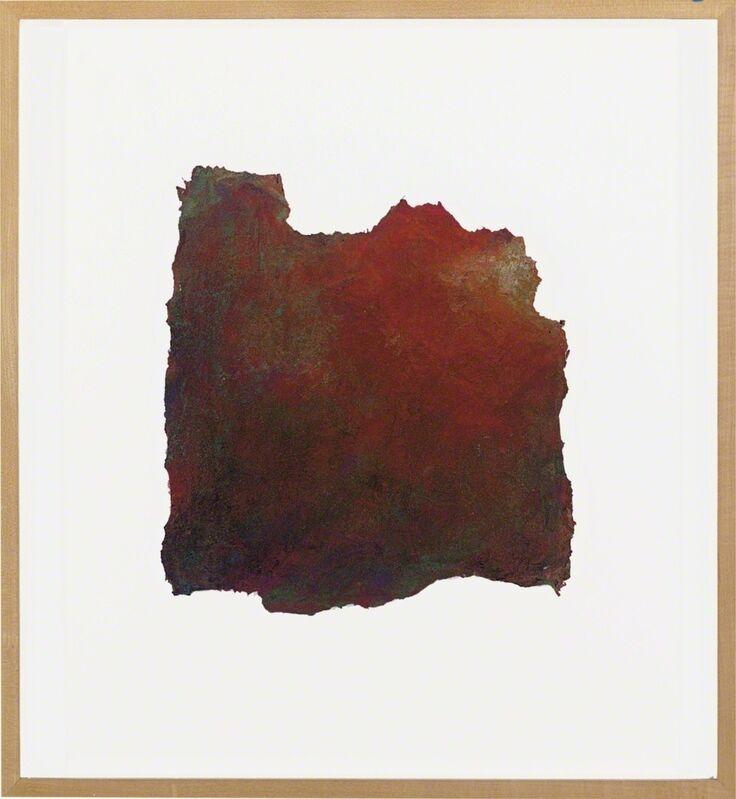 Takashi Murakami, 'Untitled (Red/Dennis Hopper)', 1989, Painting, Pigment, handmade paper, Artificial Gallery