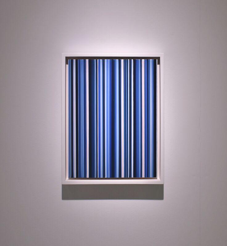 Cornelia Thomsen, 'Stripes Nr. 134', 2018, Painting, Oil on copper, √K Contemporary