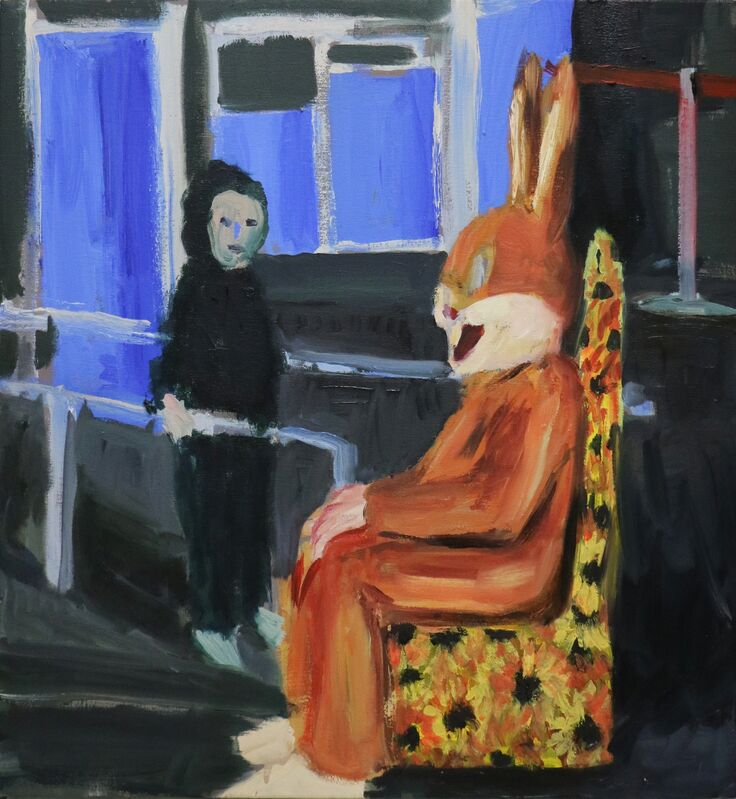 Eduardo Berliner, 'Coelho [Rabbit]', 2016, Painting, Óleo sobre tela [oil on canvas], Casa Triângulo