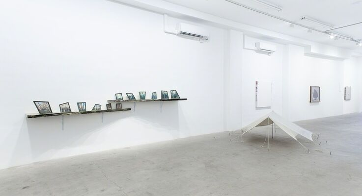 ...Therefore, Art is Splendid, installation view