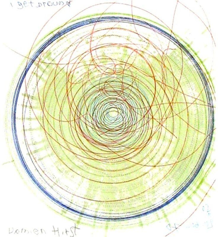 Damien Hirst, 'I Get Around, from In a Spin', Print, Spin Etching, Gregg Shienbaum Fine Art