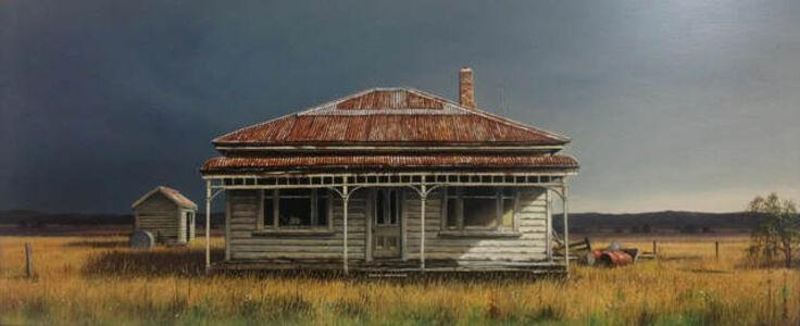 John Toomer, 'Deserted Farmhouse in the Maniototo', 2019