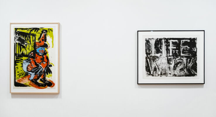 Bruce Nauman: Prints, installation view