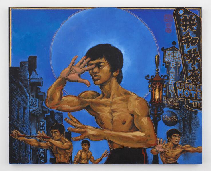 Martin Wong, 'Clones of Bruce Lee', 1992