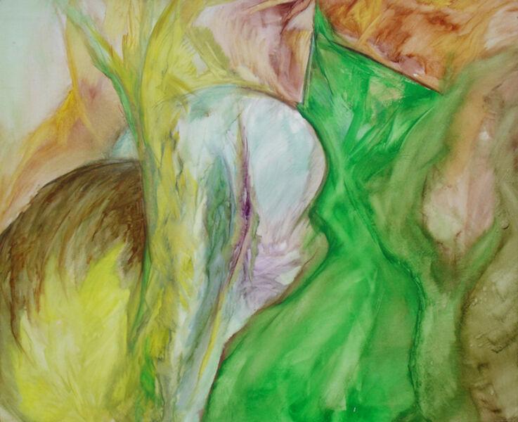 Jean Bedrosian, 'Winged Roots', 1990