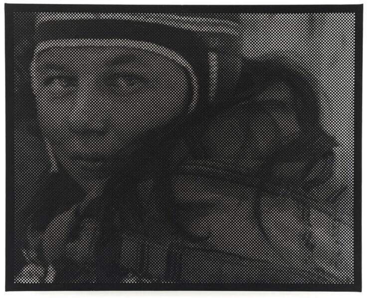 Anne-Karin Furunes, 'Unknown Portrait, from Tromholt Archive (1882/83)', 2019
