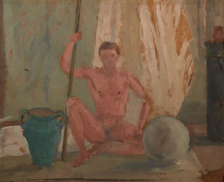Pio Semeghini, 'Model', executed in 1930
