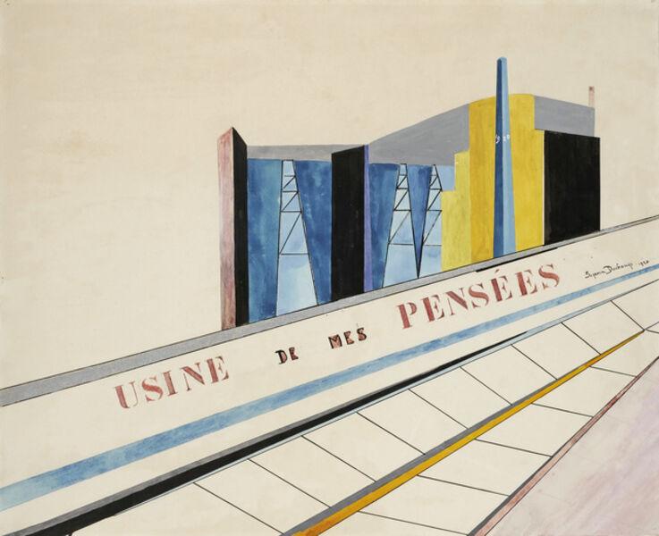 Suzanne Duchamp, 'Usine de mes pensées', 1920