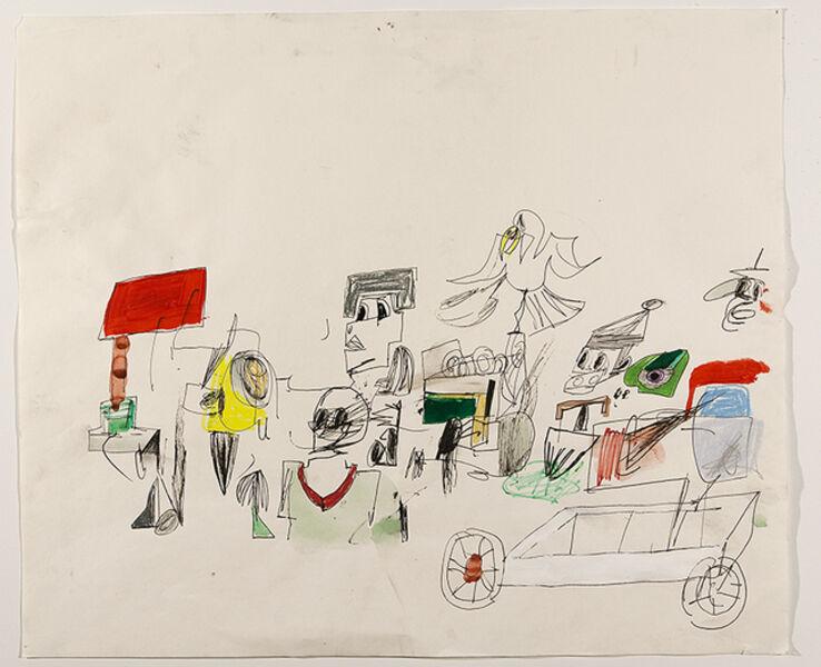 Eddie Martinez, 'Untitled ', 2009