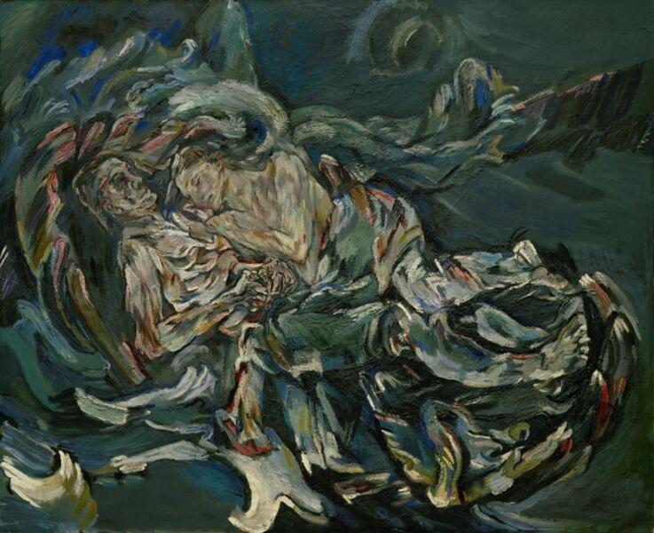 Oskar Kokoschka, 'The Bride of the Wind (Windsbraut)', 1914